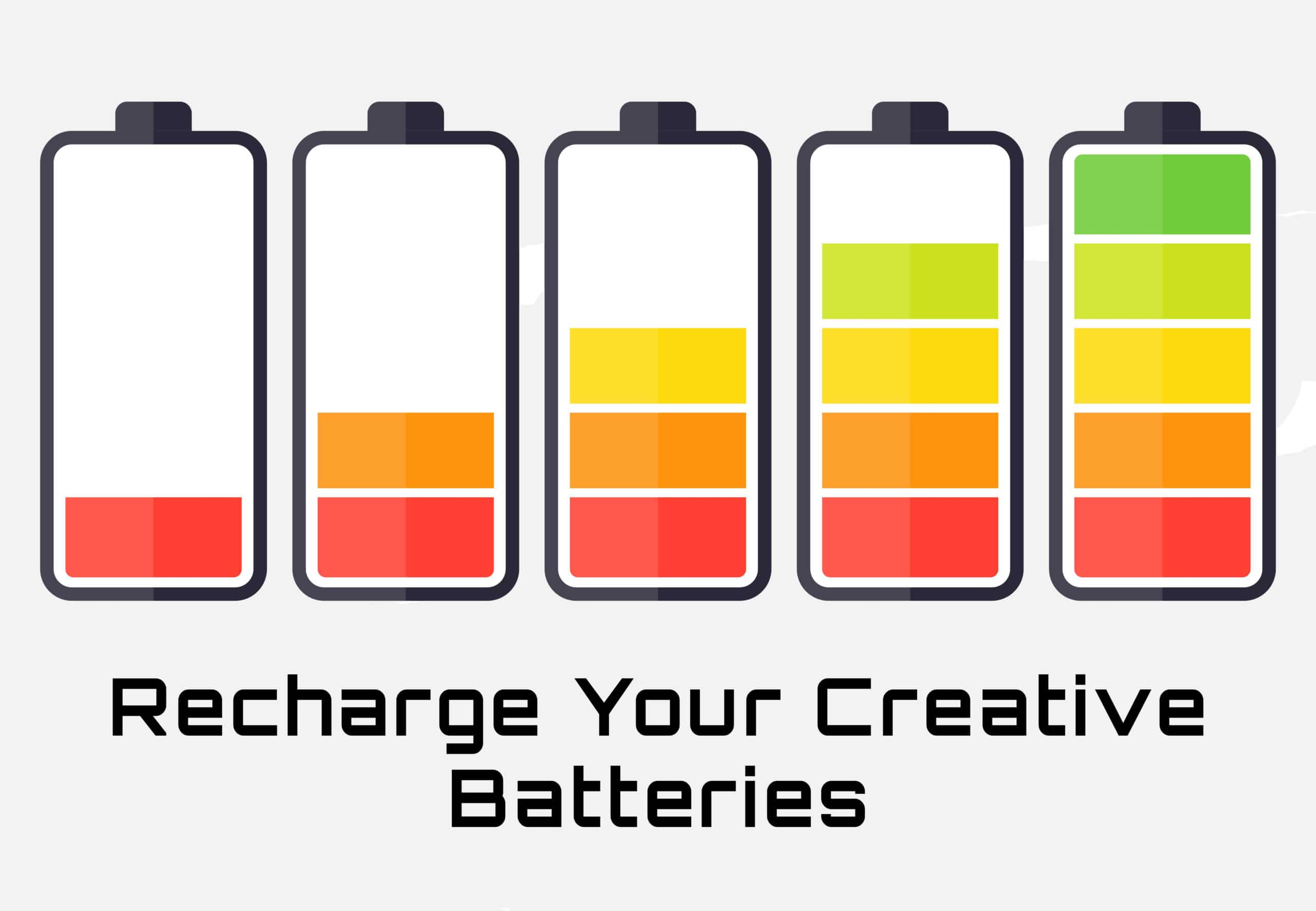 recharge your creative writing batteries